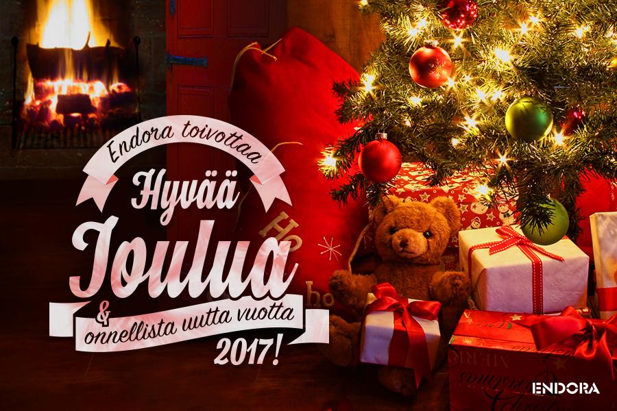 Endora toivottaa hyvää joulua