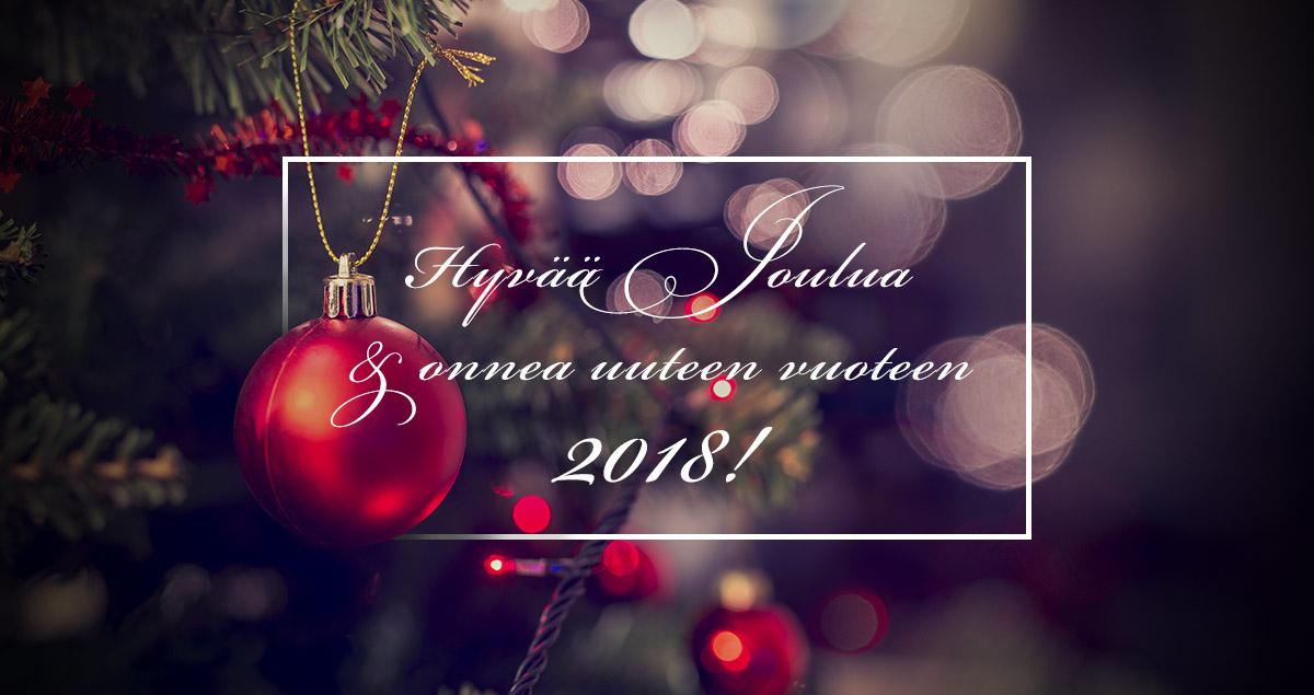 Endora - hyvää joulua ja uutta vuotta 2018